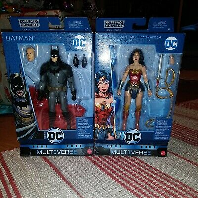 "DC Multiverse 6"" GASLIGHT BATMAN AND WONDER WOMAN SERIES 9 ACTION FIGURE Mattel"