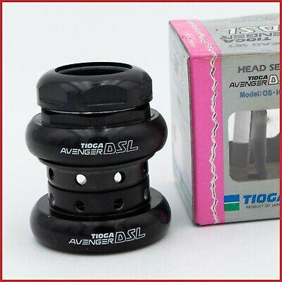 "NEW Tange Superlight Oversize headset Retro Black 1 1//4/"" Screwed NOS"