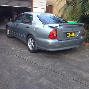 2001 Mitsubishi Magna Sedan Kotara South Lake Macquarie Area Preview
