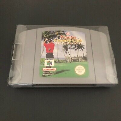 Waialae Country Club Golf for Nintendo 64/N64 - VGC/Display Case/Tested/Works