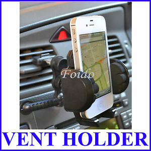 AIR VENT UNIVERSAL MOBILE PHONE FOR iPHONE iPOD CAR HOLDER