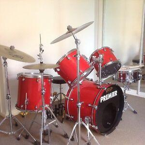 drum kit  Premier Bairnsdale East Gippsland Preview