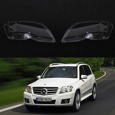 Mercedes GLK X204 Pre-lci OEM Scheinwerfergläser Scheinwerferglas Plastik Hülle
