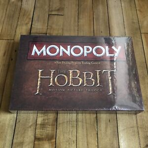 The Hobbit Monopoly board game - brand new in plastic