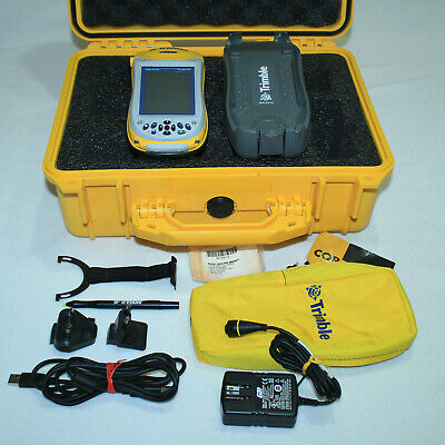 Gorgeous Trimble Geo Xh Geoexplorer 2005 Series W Case Charging Dock Much More