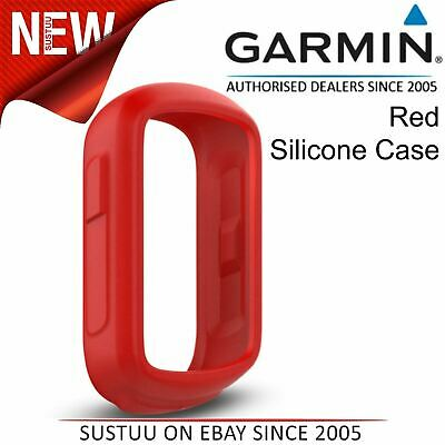 Garmin Silicone Case¦Protective Cover¦For Edge 130 GPS Cycling Bike Computer¦Red