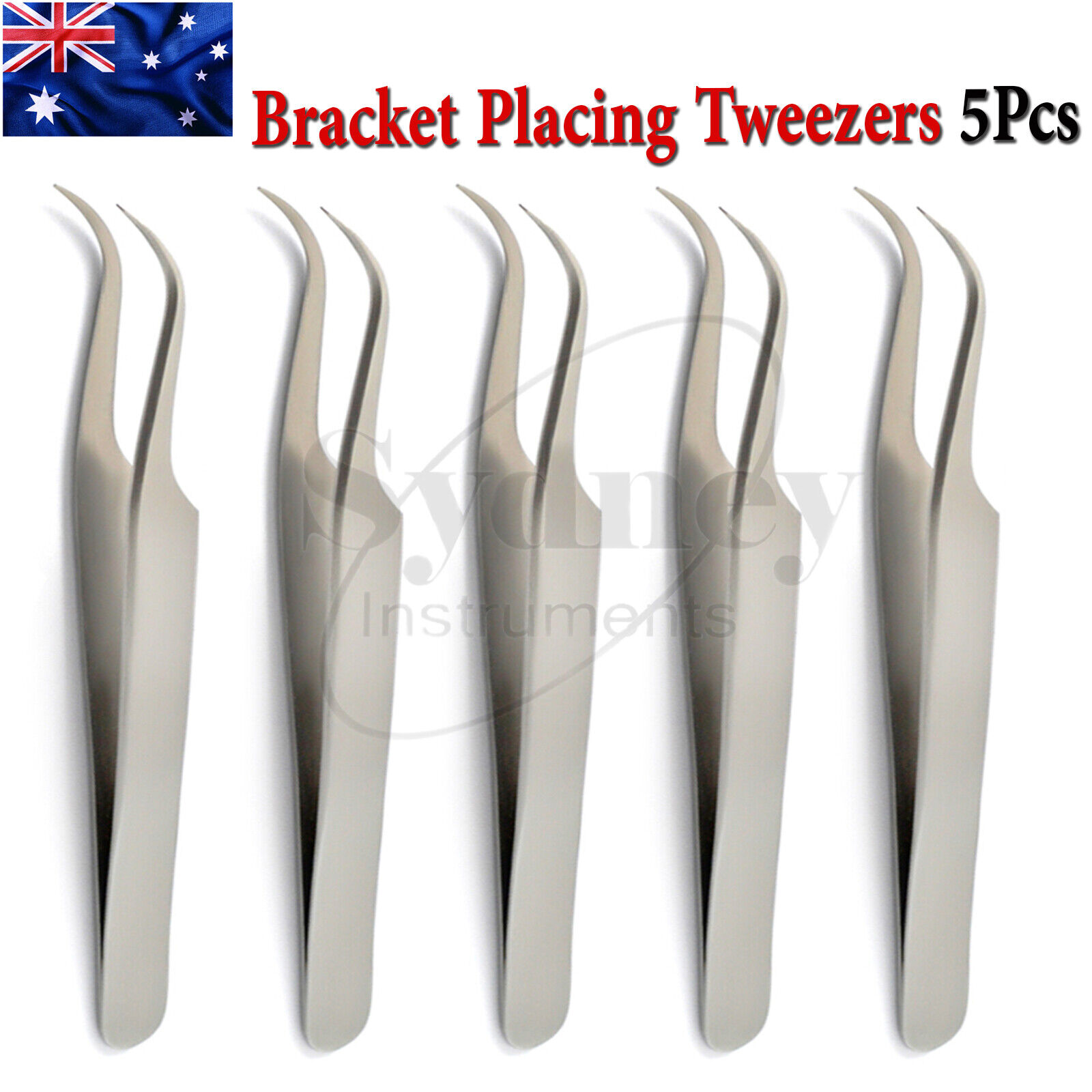 dental placing tweezers bracket ligature cotton forceps
