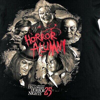 sal Halloween Horror Nights 25 chucky jack clown S T-SHIRT  (Halloween Horror Nights Clowns)