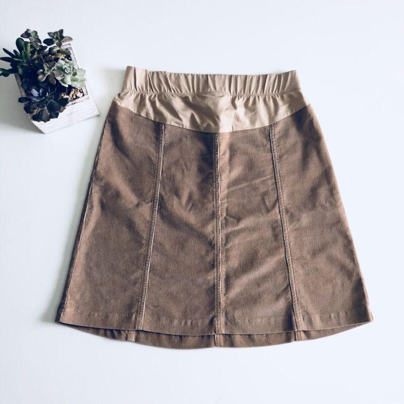 Motherhood Maternity Corduroy Skirt Size Small