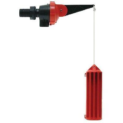 Apex RAINAID RETENTION TANK VALVE Ensuring Maximum Rainwater Storage RED/BLACK
