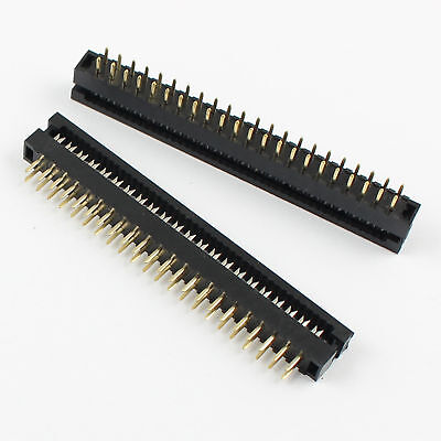 5pcs 2mm 2x22 Pin 44 Pin Male Header Idc Ribbon Cable Transition Connector