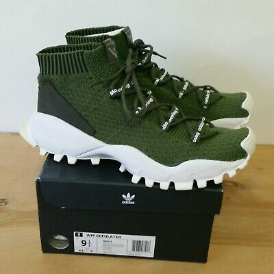 Adidas White Mountaineering Seeulater Green Size 9.5