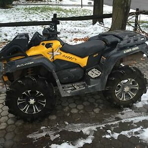 2013 can am outlander XMR 100