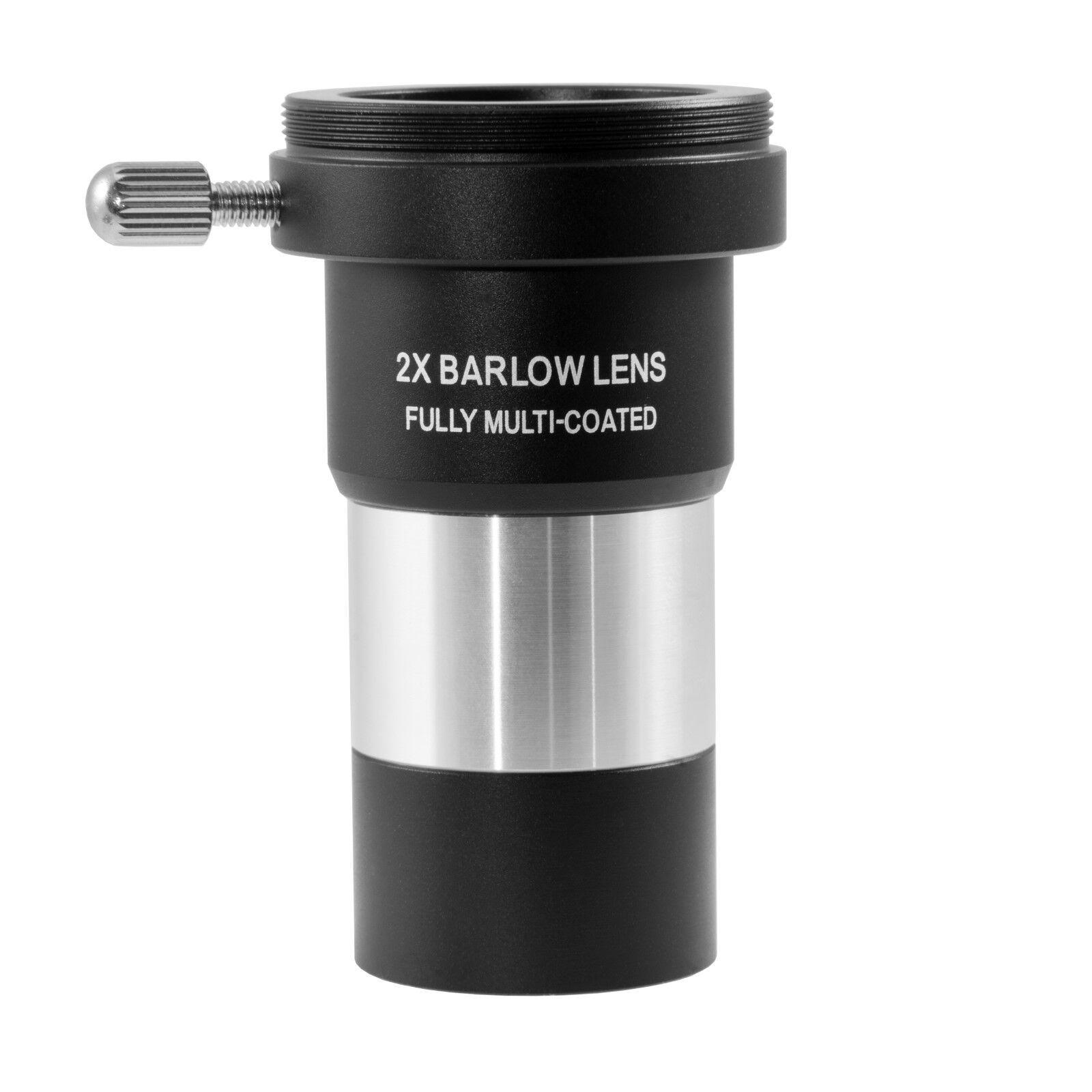 """TS-Optics Barlow achromatische 2x BarlowLinse 1,25"""" mit T2 Foto Gewinde, TSBF1"""