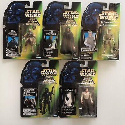 Star Wars Carded Figures Kenner Job Lot Toy Bundle POTF X5
