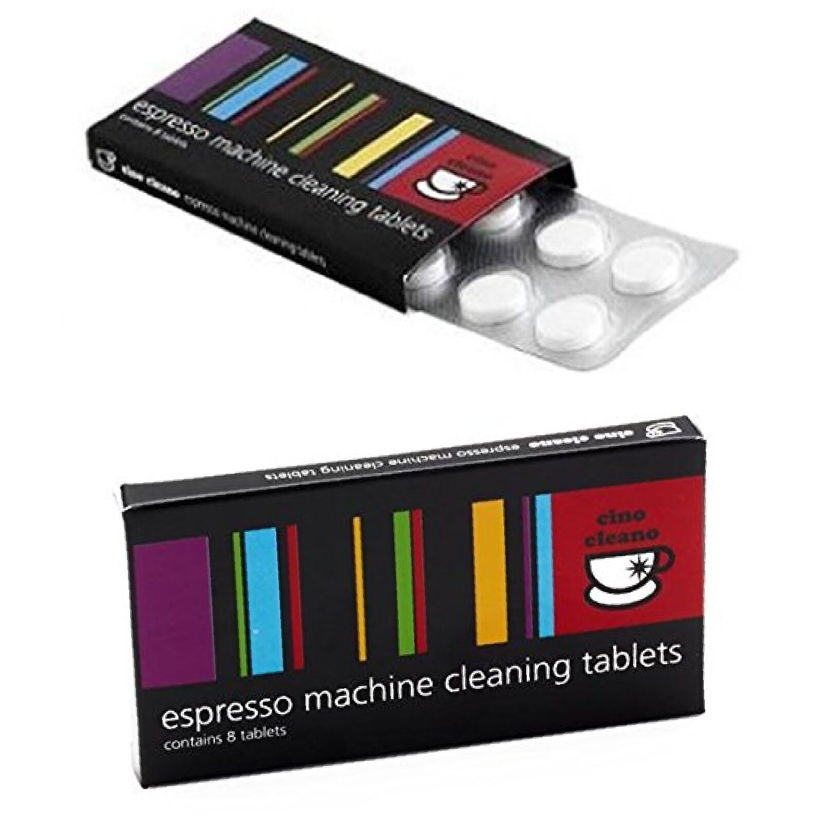 CINO CLEANO Tablets Espresso Machine Cleaning Tablets 8-Ct f