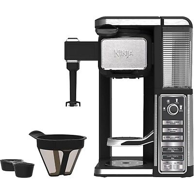 Ninja Set aside Serve Coffee Bar Machine Pod Free Auto IQ Coffee Maker with Frother