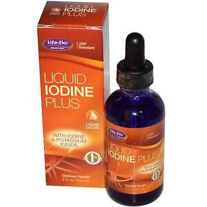 Life Flo Health, Liquid Iodine Plus, 2 fl oz (59 ml)