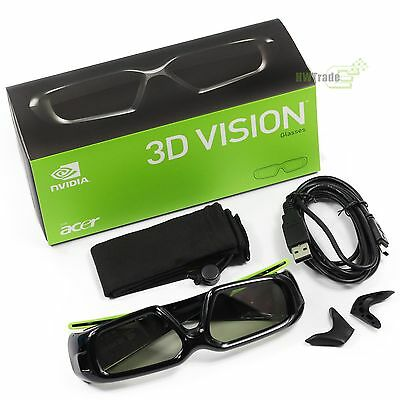 NVIDIA 3D Vision Glasses Wireless with Original Package