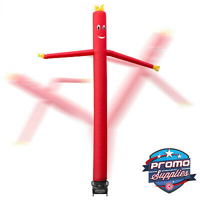 20 Inflatable Dancer Tube Dancing Guy Blower Fan - Red