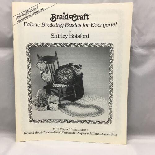 Braid Craft Fabric Braiding Basics for Everyone 1987 Rug Making Braiding