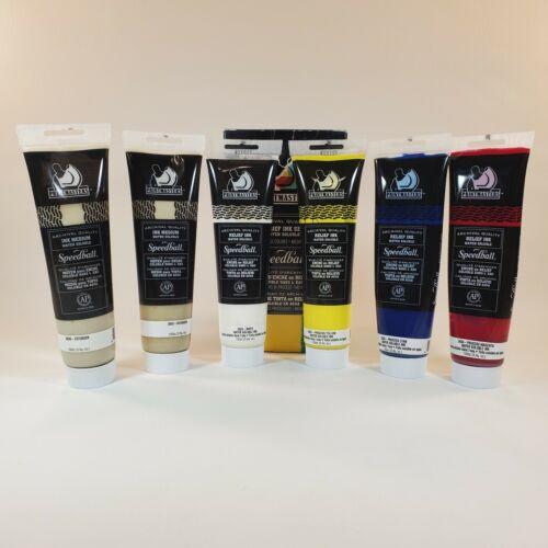 Printmasters Speedball Relief Inks Set Black Ink Not Included