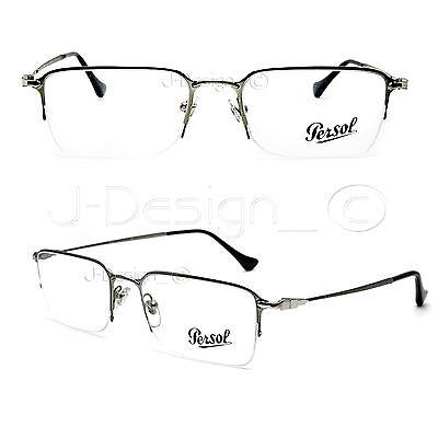 Persol 2427-V 1052 Half Rimless Eyeglasses Rx Eyewear - Made in Italy - New