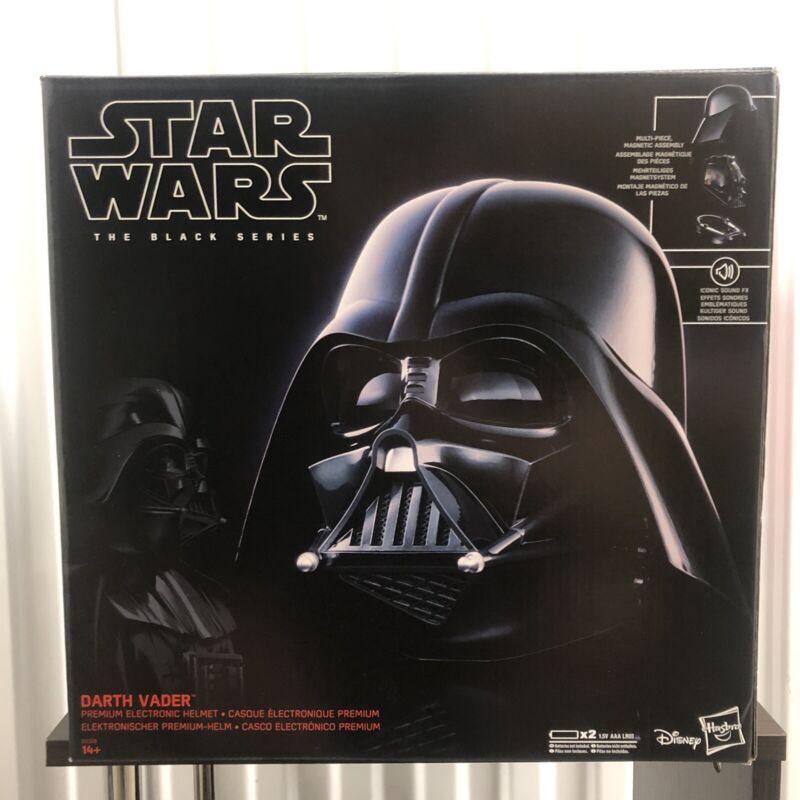 💥Hasbro Black Series Star Wars Darth Vader Electronic Helmet-SHIPS FAST