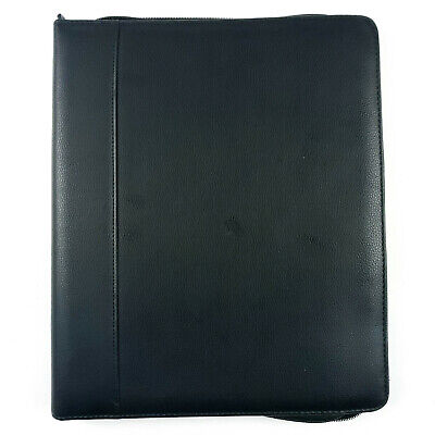 Buxton Executive Portfolio Folder Organizer - Black