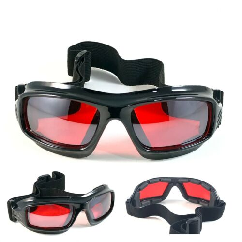 NWT Motorcycle Goggles Fashion TAUSCH STYLE Biker Sunglasses Padded Anti Fog