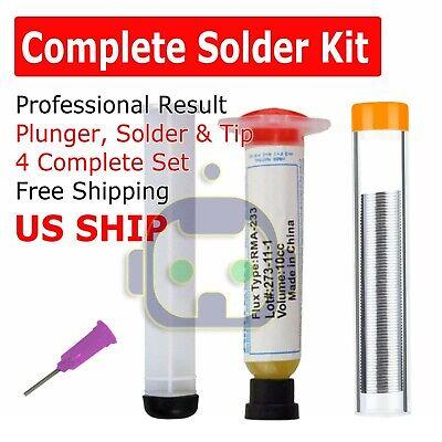 Solder Wire Soldering Paste Flux Grease Rma-223 10cc Syringe Tube Pcb Bga Smd