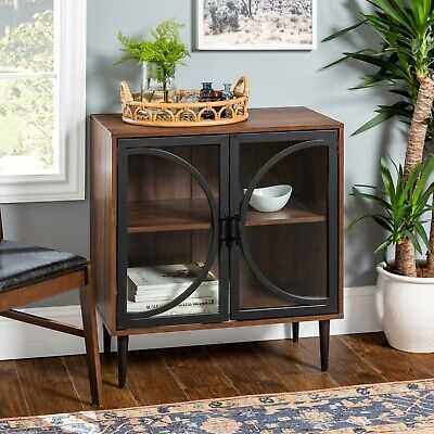 Sideboard Buffet Table Modern Credenza Small Dining Room Bar Storage -