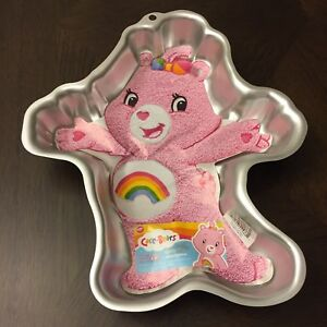Wilton care bear cake pan - vintage