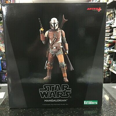 "KOTOBUKIYA ARTFX+ Star Wars The Mandalorian 1/10 Scale Figure - 17"" - In Stock."