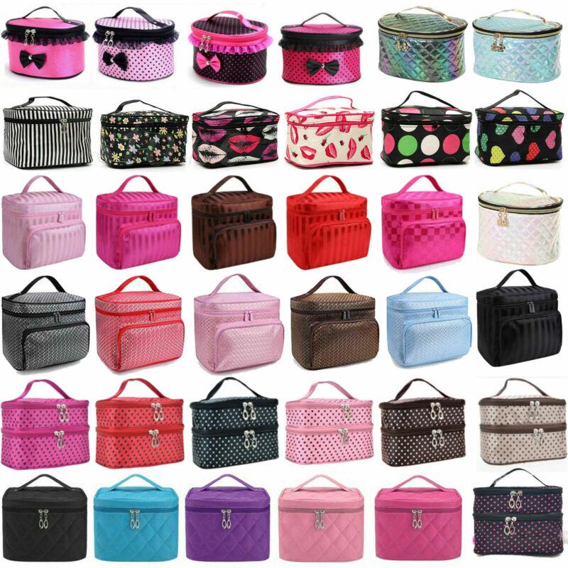Professional Cosmetic Case Makeup Bag Box Storage Handle Org