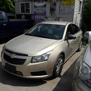 2011 Chevrolet Cruze LS safety included