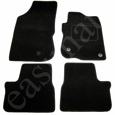 Car Parts - Fits Peugeot 208 2012 onwards Fully Tailored Carpet Car Mats Black 4pc Floor Set