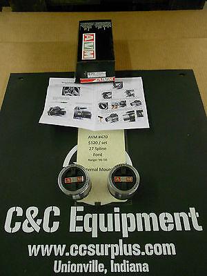 AVM 470 locking hubs Ford Ranger 1998 1999 2000 warn 61572 Internal mount lock