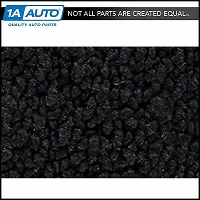 for 68 Chevy Corvette with Padding 80/20 Loop 01-Black Cargo Area Carpet Molded