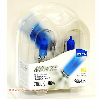 Nokya 9006XS Arctic White Headlight Xenon Halogen Light Bulb 7000K S2 ()