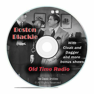 Boston Blackie, 1,060 Mystery Thriller Old Time Radio Shows, OTR, DVD CD G05