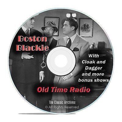 Boston Blackie, 1,060 Mystery Thriller Old Time Radio Shows, OTR, DVD CD G05
