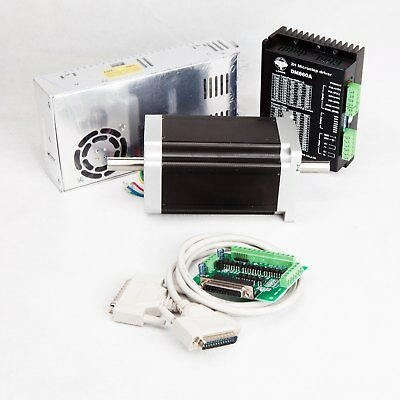 Free Ship Nema 34 Stepper Motor 1600oz.in Dual Shaftdriver7.8apower Cnc