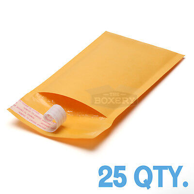 25 000 Kraft Bubble Padded Envelopes Mailers 4 X 8