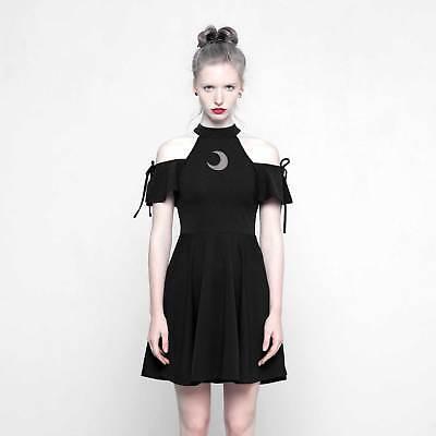 PUNK RAVE Gothic Kleid Halbmondkleid Half Moon Dress Kleines (Rave Dress)
