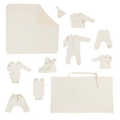 Newborn Boys Girls Outfit Sets Organic Cotton 0-3M Baby Clothing Pure 11 PCS/Set