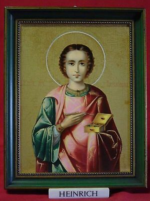 Ikone, Der heilige Panteleimon, Villeroy & Boch Porzellan