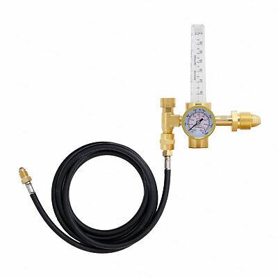 Argon Co2 Mig Tig Flow Meter Welding Regulator With Flowmeter Cga-580 8.5 Hose