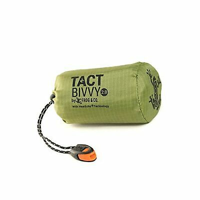 Tact Bivvy Compact Ultra Lightweight Sleeping Bag - 100% Waterproof Ultraligh...