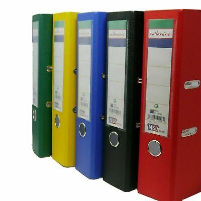 Aktenordner Ordner Kunststoff (PP) A4 8cm breit alle Farben Briefordner